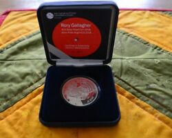 Rory Gallagher Silver Proof Coin