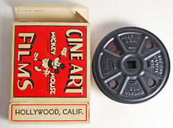 Mickey Mouse - Vintage B/w Silent 16mm 50and039 Film - Mickeyand039s Blow Out
