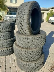 Four Used 325/50/22 127s Fuel Gripper A/t All Season Radial Tires - Lt325/50r22