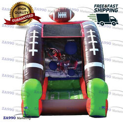 10x6.6ft Commercial Inflatable American Football Toss Sport Game With Air Blower