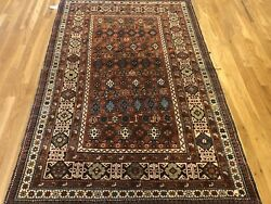 Antique Chi-chi 1930s Rug In Perfect Condition Size Is 6and0395 X 4and0394