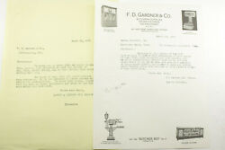 1929 Lamson Goodnow F D Gardner And Co Indianapolis In Images Letr Ephemera P1536d