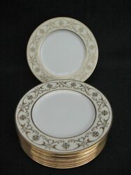 12 Lenox Gold Casino 10.5 Service Plates Chargers Unused Marshall Field 1930s