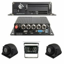 Black Box 1080p Dash Cam 3-4 Cam Mdvr System For Fleets/ Truckers