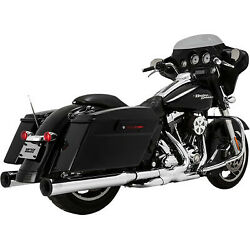Vance And Hines -16706- Eliminator 400 Slip-ons For '96-'16 Hd Touring Display