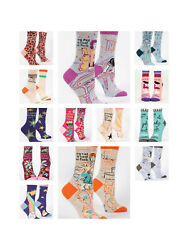 Blue Q Socks Women's - Crew  & Ankle  Funny Socks - NEW w Tags - Ships FREE USA