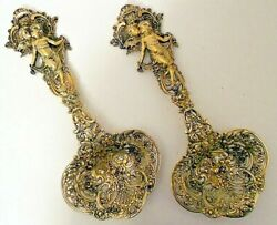 A magnificent pair of sterling silver bonbonnieres, Tiffany & Co, NY c.1891-1902