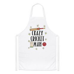 Crazy Cricket Man Chefs Apron - Funny Cooking
