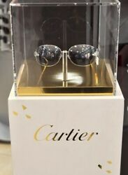 NEW CARTIER Panthere Rimless Sunglasses Limited Series Occhiali Lunette Brillen