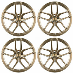 20 Stance Sf03 20x10.5 Bronze Forged Concave Wheels Rims Fits Audi B8 A5 S5