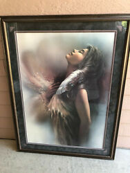 Lee Bogle The Promise Limited Edition Print 527/995 Framed By Native Americans