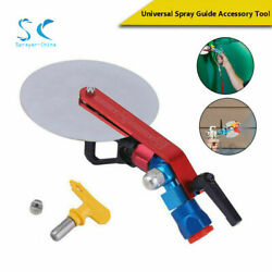 Universal Airless Paint Sprayer Spray Guide Accessory With 517 For Titan Wagner
