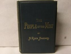 The People of the Mist H Rider Haggard inscribed by author Rare 1st edition 1894