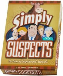 Simply Suspects - Strategy Board Game - From Spy Alley