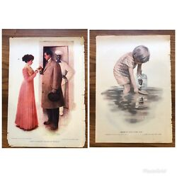 Lot Of 2 - Cream Of Wheat Advertising Ad Vintage 1910 And 1919 Black Americana