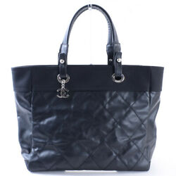 CHANEL Tote MM A34209 Tote Bag PVCStainless Steel Women