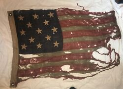 Antique 13 Star American Flag