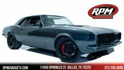 1968 Chevrolet Camaro Pro Touring Custom Restomod 1968 Chevrolet Camaro Pro Touring Custom Restomod 1000 Miles Gray Coupe 8 Automa