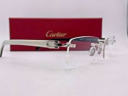 Cartier C Decor CT00460 002 Buffalo Horn  53-18-140 100% Authentic Brand New