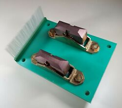 Nos Battery Contact Plates - Vahle Free Shipping.