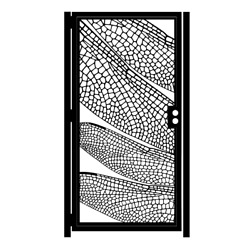 Decorative Steel Gate – Nature Gate – Dragonfly Wings Design – Handmade