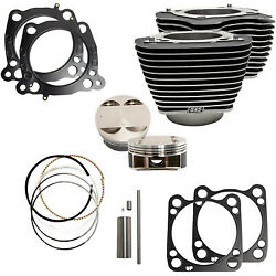 Sands Cycle M8 Big Bore Cylinder Piston Kit 107 124 Harley Touring Softail 17-20