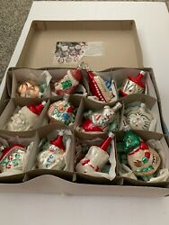 National Museum Of American History Glass Christmas Ornament Assortment