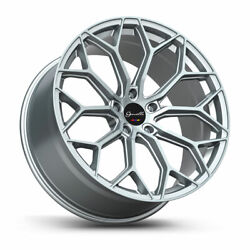 20 Gianelle Monte Carlo Silver Concave Wheels Rims Fits Lexus Is200 Is250 Is350