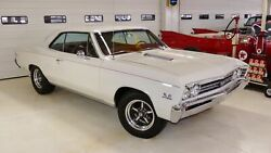 1967 Chevrolet Chevelle SS 454ci 4-Speed BEAST Stunning Red Interior THE