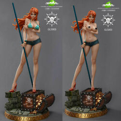 Green Leaf Studio One Piece Good Cast Off Nami Gk Collector Resin Painted Statue