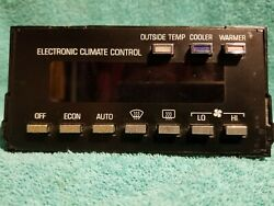 SHIPS SAME DAY! GM 16154876 Climate Control Module 1990-1992 Brougham 90 91 92