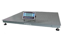 Wdeck Industrial Floor Scale 5000lb X 1lb 48x48 W/ Weight Indicator