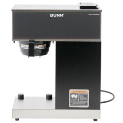 Bunn 33200.0011 Vpr-tc Pourover Thermal Carafe Coffee Brewer - Stainless And Black