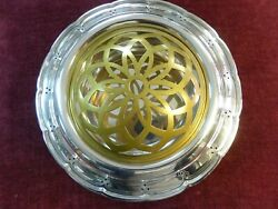 Antique And Co. Makers Fernery Bowl Large 11 24 Oz Solid Sterling Silver