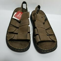 D2 DEXTER BOYS KIDS STRAP SANDALS BROWN SZ 3.5 NEW $9.95
