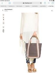 Anya Hindmarch Pont Star Tote Canvas Leather $215.00