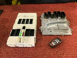 Bmw F30 F32 F22 N55 Dme Engine Computer Control Module Key Ignition Set Oem 88mk