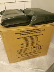 Full Box 10 Pcs. Mre Lithuanian Army Military Ration Meal Ready To Eat 2022