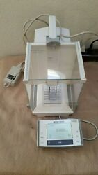 Mettler Toledo Xs204 Excellence Analytical Balance 220 Gx0.1 Mg W Adapter Great
