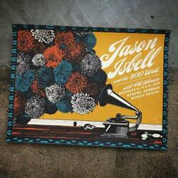 Jason Isbell Official 11/14-16/2019 Poster Athens Ga Signed And Numbered A/e /50