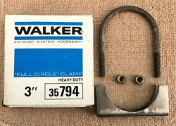 Nos Walker 35794 Heavy Duty 3 Full Circle Exhaust Clamp.