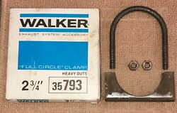 Nos Walker 35793 Heavy Duty 2 3/4 Full Circle Exhaust Clamp.