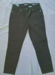 DAVID BITTON BUFFALO WOMEN'S DAILY STRETCH PANTS BLACK NWT