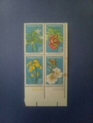 United States Plate Block Postage Stamps