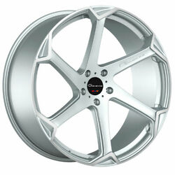 20 Giovanna Dalar-x Silver 20x10 Concave Wheels Rims Fits Ford Mustang