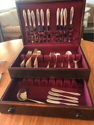Prelude By International Sterling Silver Set For 10 - 52 Pieces - No Mono
