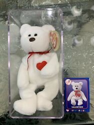 Beanie Baby Valentino With Card Brown Nose Ny Yankees David Wells Perfect Game