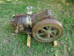 Vintage Ideal Power Lawn Mower Co. Motor With 12 Drive Wheel