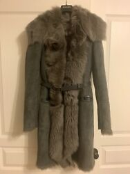 Patrizia Pepe Shipskin Coat , Excellent Condition, Wore 3 Times Only , Size S