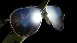 😎 NEW FROSTED LENS CHROME HEARTS BLADE HUMMER II BUFFALO HORN CAMEO 925 SILVER
